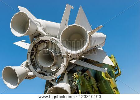 Nozzles missile anti-aircraft missile system S  200V