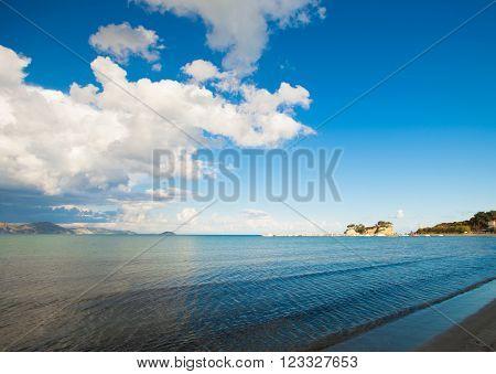 Beach, Zakynthos Island, Greece, happy summer time