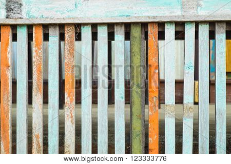 Old wooden panel abtract background, wooden construction