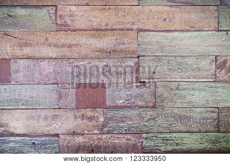 Old wooded panel abtract background and wallpaper