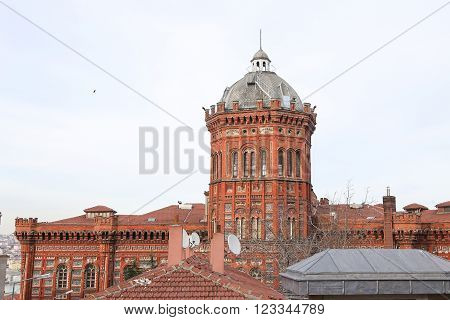 Phanar Greek Orthodox College in Istanbul City Turkey