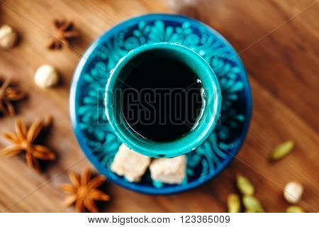 Hot Drink With Different Spice