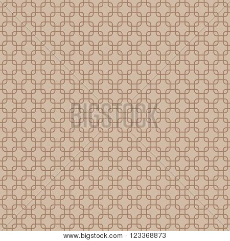 Seamless round corner squares pattern background, Vector illustration