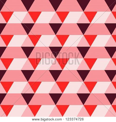 romb pattern rectangle triangle texture red burgundy pink