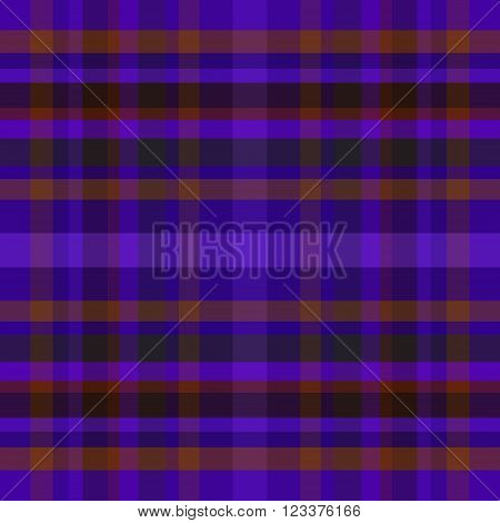 abstract vector tartan seamless - violet and orange