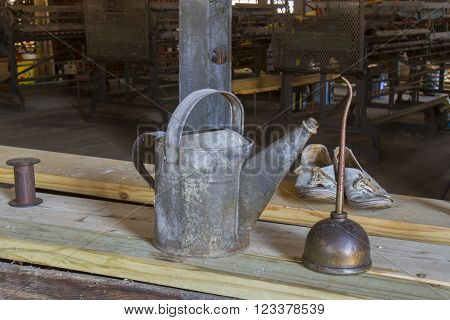 Oil And Water Cans