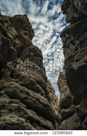 Slot Canyon In California