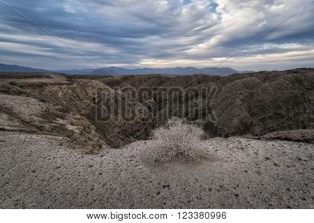 Landscape In The Anza-borrego Desert