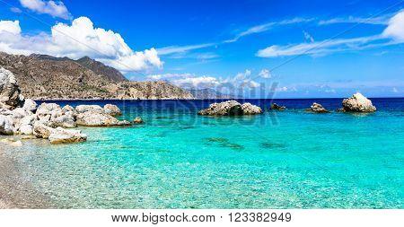 most beautiful beaches of Greek islands - Apella in Karpathos