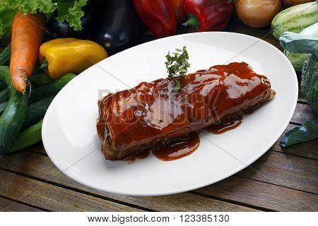 BBQ  rib