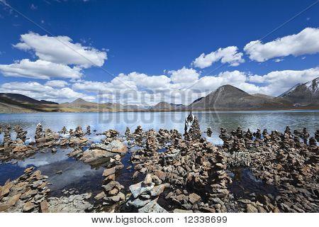 tibet: lake si jin la cuo