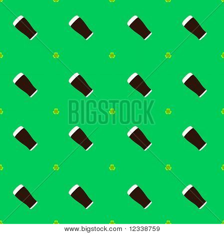 Seamless St Patricks Day Pattern