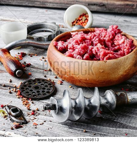 Raw Minced Beef