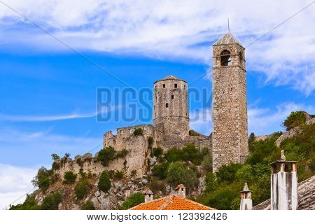 Pocitelj - Bosnia and Herzegovina - architecture travel background