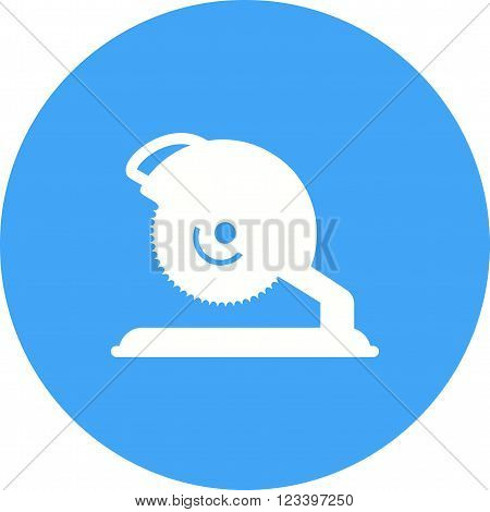 Saw, electric, blade icon vector image.Can also be used for tools. Suitable for mobile apps, web apps and print media.