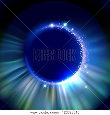 Abstract background with light effects, eps10 vector