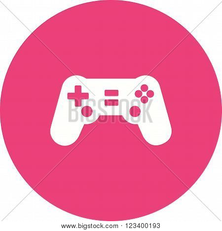 Game, console, play icon vector image.Can also be used for games entertainment. Suitable for mobile apps, web apps and print media.