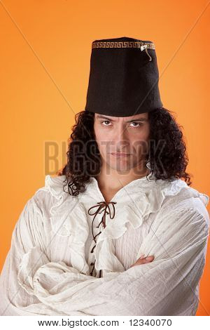 Latino Man In Traditional Dress