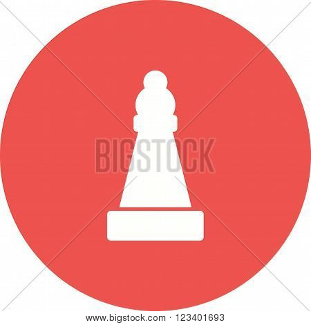 Bishop, king, queen icon vector image. Can also be used for games entertainment. Suitable for web apps, mobile apps and print media.