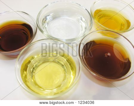 Five Different Vinegars