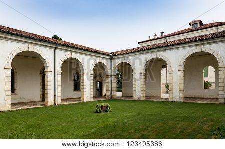 Vicenza, Italy - May 25, 2015: Montecchio Maggiore(Vicenza Veneto Italy) - Villa Cordellina Lombardi built in 18th century