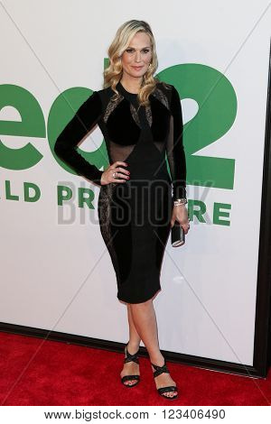 NEW YORK-JUN 24: Molly Sims attends the 'Ted 2' world premiere at the Ziegfeld Theatre on June 24, 2015 in New York City.
