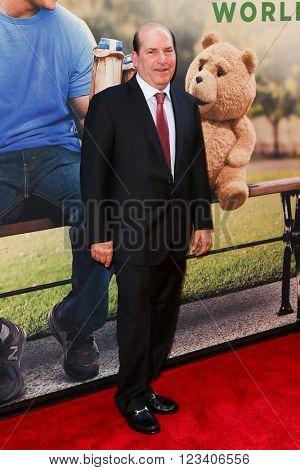 NEW YORK-JUN 24: John Jacobs attends the 'Ted 2' world premiere at the Ziegfeld Theatre on June 24, 2015 in New York City.
