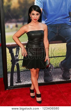 NEW YORK-JUN 24: Chrissie Fit attends the 'Ted 2' world premiere at the Ziegfeld Theatre on June 24, 2015 in New York City.