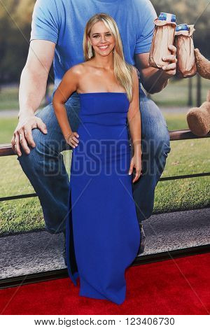 NEW YORK-JUN 24: Jessica Barth attends the 'Ted 2' world premiere at the Ziegfeld Theatre on June 24, 2015 in New York City.