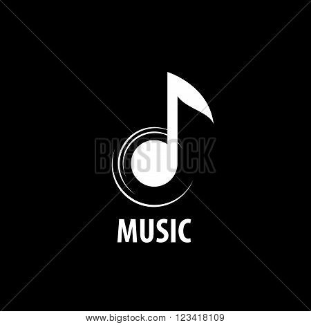 Abstract logo for music and sound. Vector pattern