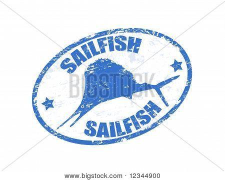 Sailfish Stamp