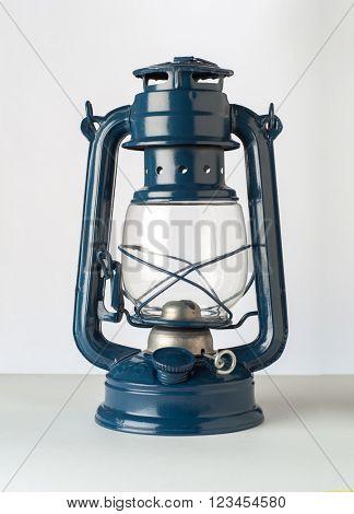 Typical Arabian kerosene kandil or hanging lamp. An isolated object