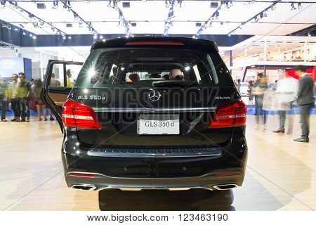 Nonthaburi - March 23:new Mercedes Benz Gls S500 Coupe Amg On Display At The 37Th Bangkok Internatio