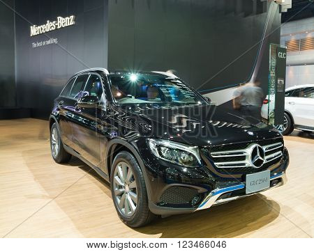 Nonthaburi - March 23: New Mercedes Benz Glc 250 D Offroad On Display At The 37Th Bangkok Internatio