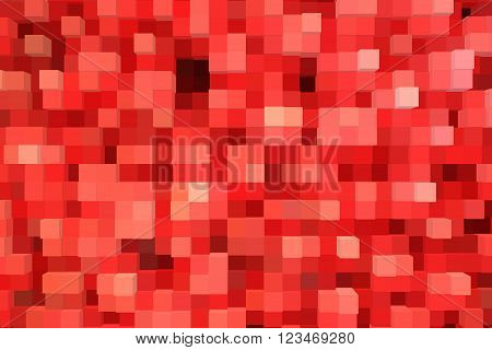 creative abstract red texture with embosse strips
