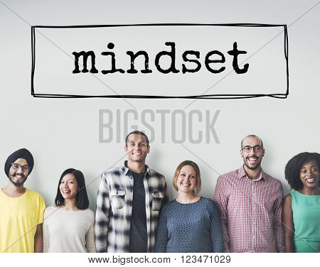Mindset Attitude Positive Thinking Mental Concept