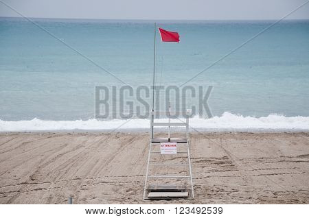 savona beach with views of the beach establishments