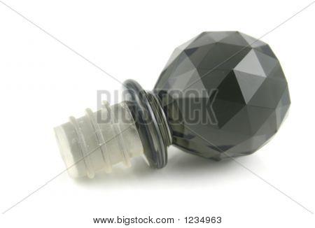 Black Bottle Stopper