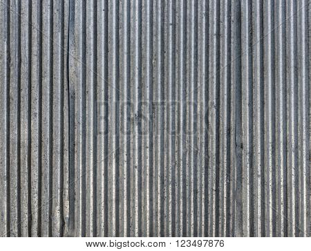 Corrugated steel sheets texture or background