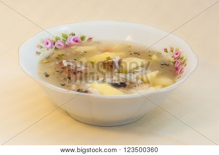 Russian Fish Soup With Pacific Saury (cololabis Saira) - Seafood In Russian Far Eastern  Cuisine