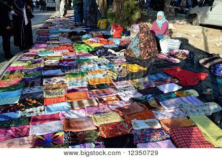 Market In Tunisia