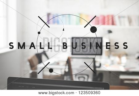 Small Business Development Entrepreneur Niche Concept