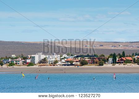 Coastline in Puerto Madryn Patagonia - Argentina