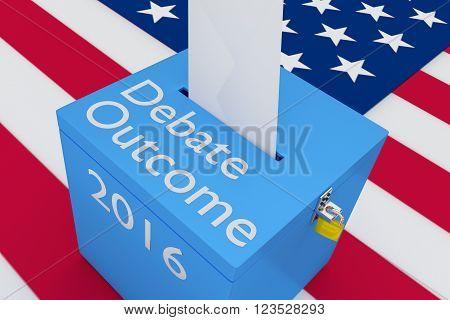 Debate Outcome 2016 Concept