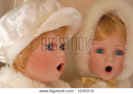 Caroling Dolls