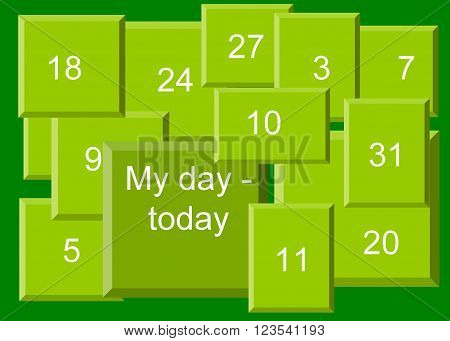 My day - today 
