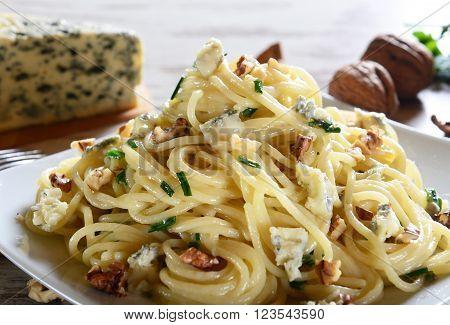 Pasta With Gorgonzola