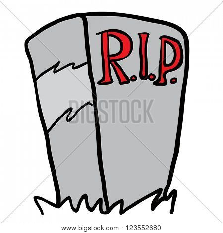 tombstone cartoon