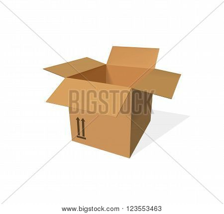 Packing product icon design style. Boxes icon logo, box delivery, package service, transportation parcel, deliver container, receive pack, send and logistic isolated vector illustration