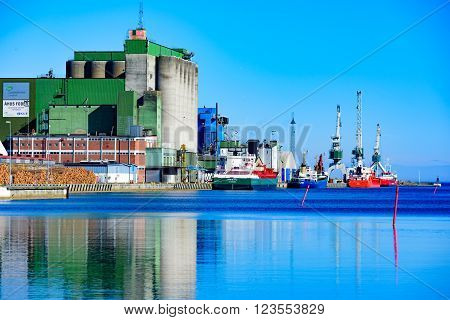 Ahus Harbor